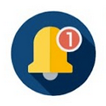 system notifications icon