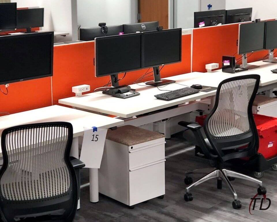office workstation setup services