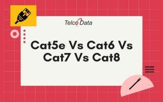 cat5e vs cat6 vs cat7 vs cat8