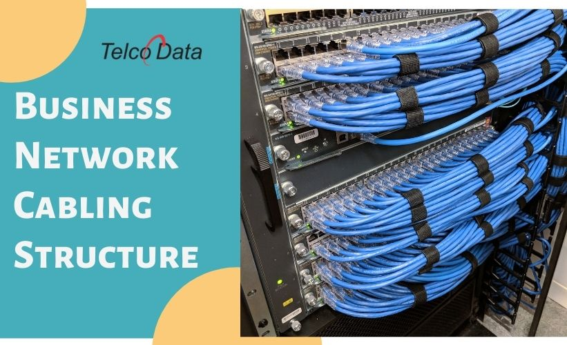 business network cabling structure