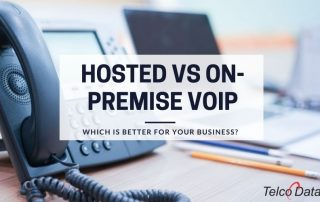 hosted vs on premise voip