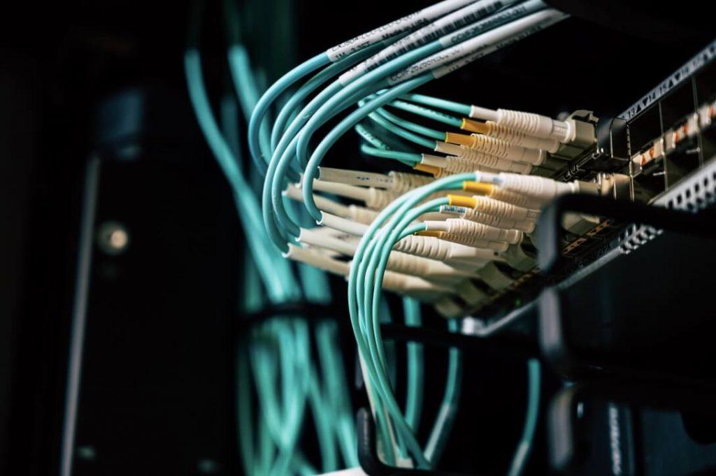 fiber cabling installation
